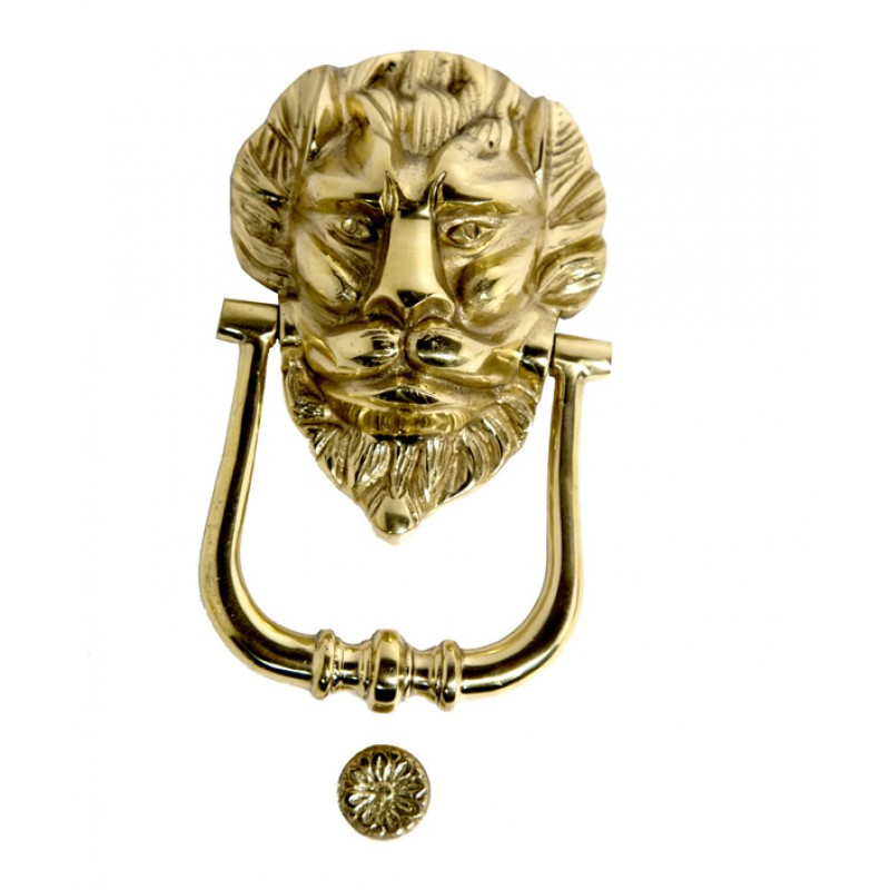 Decorative Lion Head Door Knocker